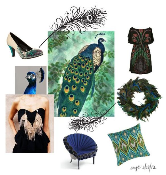 Inspiration Board: The Peacock
