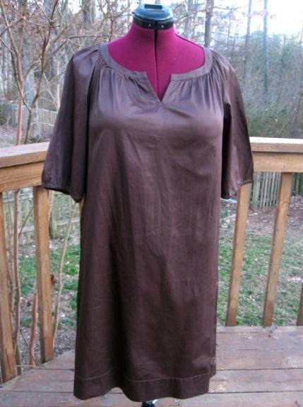 "Target Merona Dress ""Before"" Refashion"
