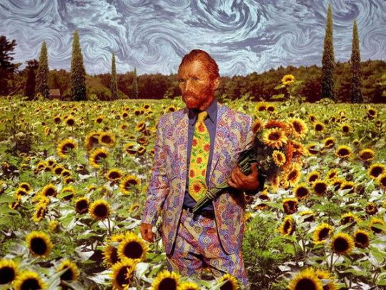 Van Gogh's obsession with sunflowers