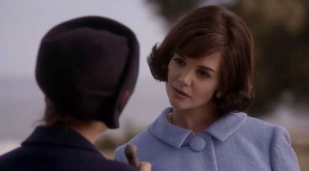 Jackie Kennedy played by Katie Holmes