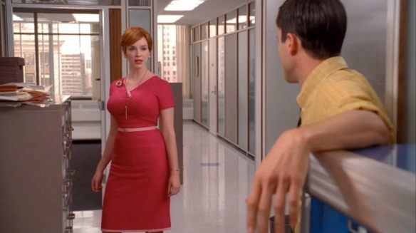 Joan Holloway's Season 4 Dress