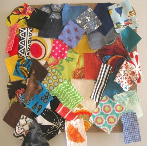 Spring / Summer 2012 Fabric Swatch Board