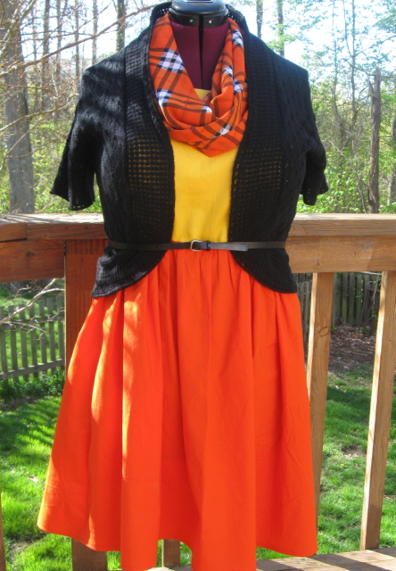 "The ""Look on the Bright Side Dress"" with Styling Option"