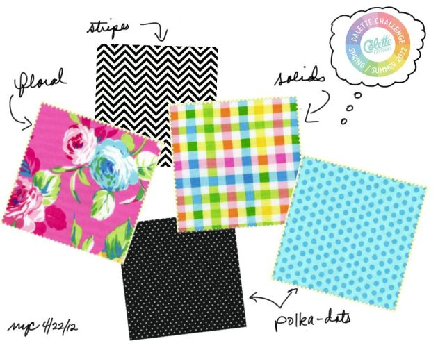 Palette of Fabric Prints to Inspire a Spring/Summer Mini Wardrobe