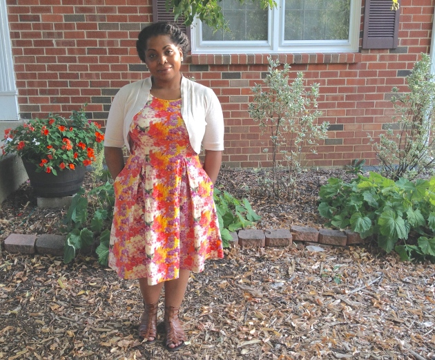The Family Friendly Floral Dress