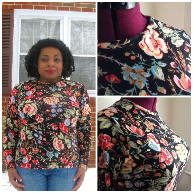 Floral T-Shirt Collage