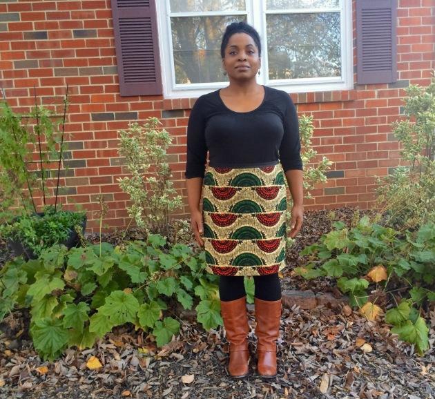 African Straight Skirt Custom_Block - 1