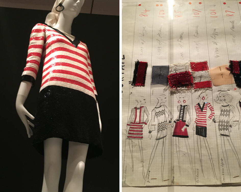 YSL_VMFA_Exhibit_StripedSequinedDress